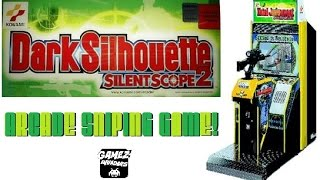 Konami's SILENT SCOPE 2: Dark Silhouette! Arcade Sniping Game!