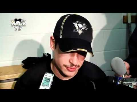Sidney Crosby Off-Day Interview / Addresses Sens GM Bryan Murray's Comments (11.28.11)