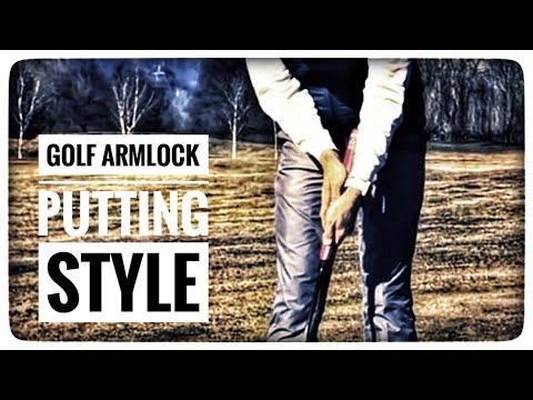 Golf - EVNROLL Armlock Putter - Die Nachgewiesen Leichteste Form Zu Putten