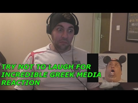 Try Not To Laugh For Incredible Greek Media Part 2 Reaction