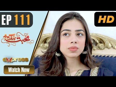Mohabbat Zindagi Hai - Episode 111 - Express Entertainment Dramas