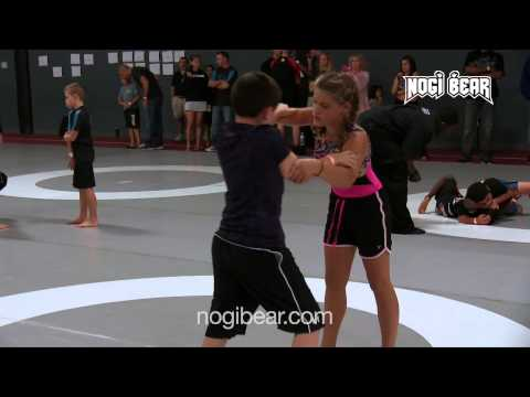 D. Adams vs A. Slimmer at The Good Fight New Jersey Open 2014 • Kids No-Gi • Nogi Bear®