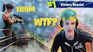 NINJA GETS SNIPED! - FORTNITE BATTLE ROYALE