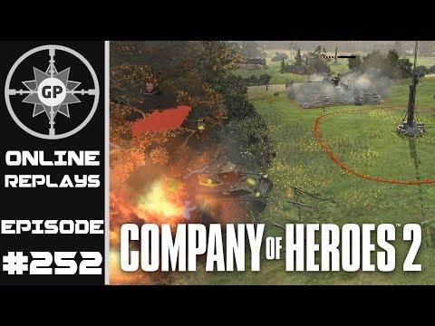 Company of Heroes 2 Online Replays #252 - Expert Tactician, Terrible Commander