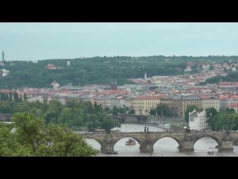 scenic view of Prague, Czech Republic from Letna Park