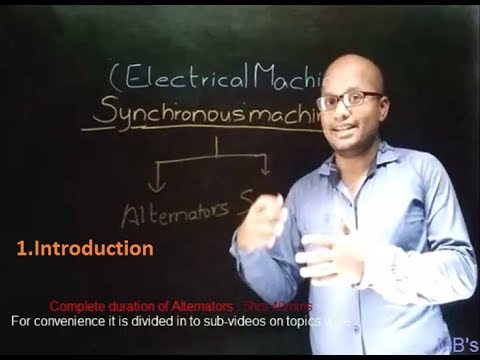 "Alternators-Lecture 1(watch in ""theater mode [      ]"" of youtube if on PC)"