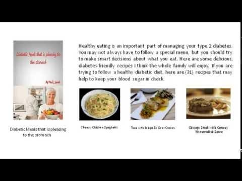 Easy To Follow Diabetic Recipe EBooks