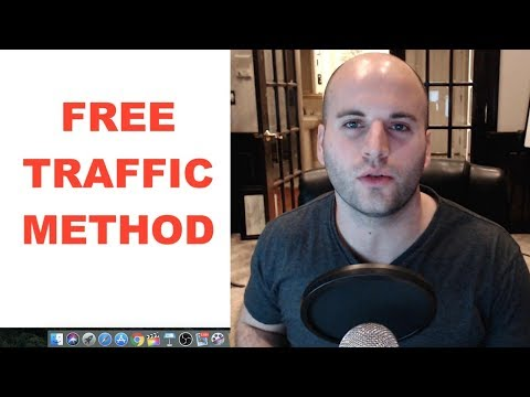 ONE WEBSITE TO GET FREE TRAFFIC FOR AFFILIATE MARKETING