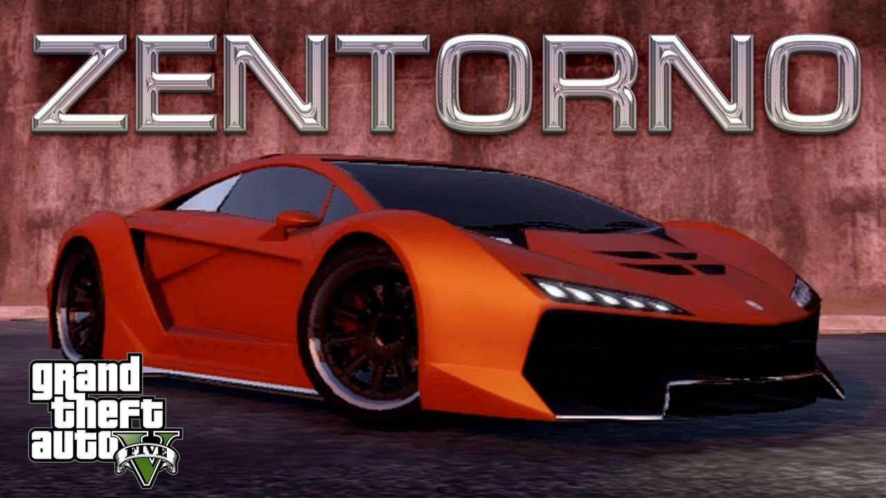 Zentorno Gta 5 Customization