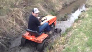 Lawn Tractor Mud Run