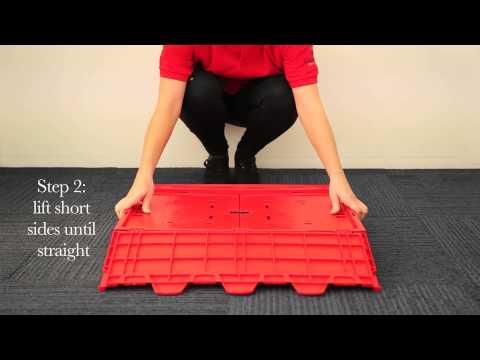 Nuts and Bolts ID: The Polypropylene Stakrak Folding Box