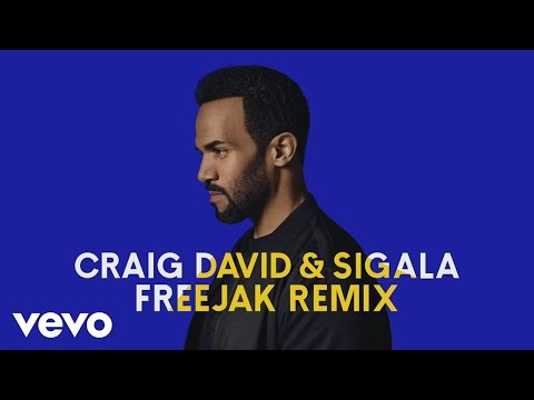 Craig David, Sigala - Ain't Giving Up (Freejak Remix) [Audio]