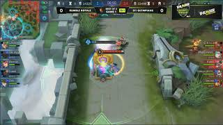 Day 1 STI VS Rumble Royale |Game 1 and 2 Best of 3 Match Semis | Mobile Legends|Thunder Esports Tour