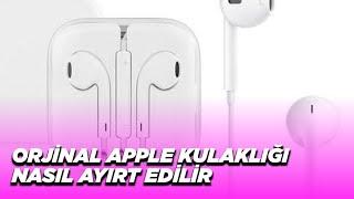 Orjinal apple kulaklığı nasıl ayırt edilir