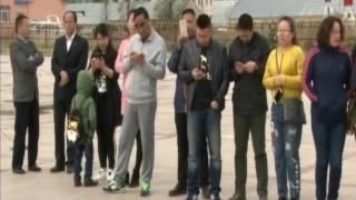 """Вести-Хабаровск. Тестовый рейс """"70 лет Победы"""" в Фуюань"""