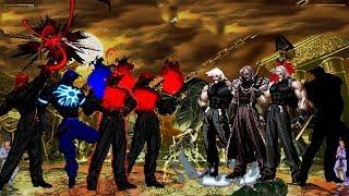Valmar Rugal Evolution Team VS Archimonde Evolution Team! The Burning Legion!