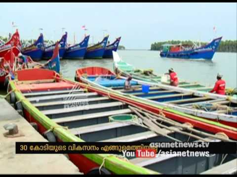 Thrissur Chettuva Fishing Harbour work yet not completed