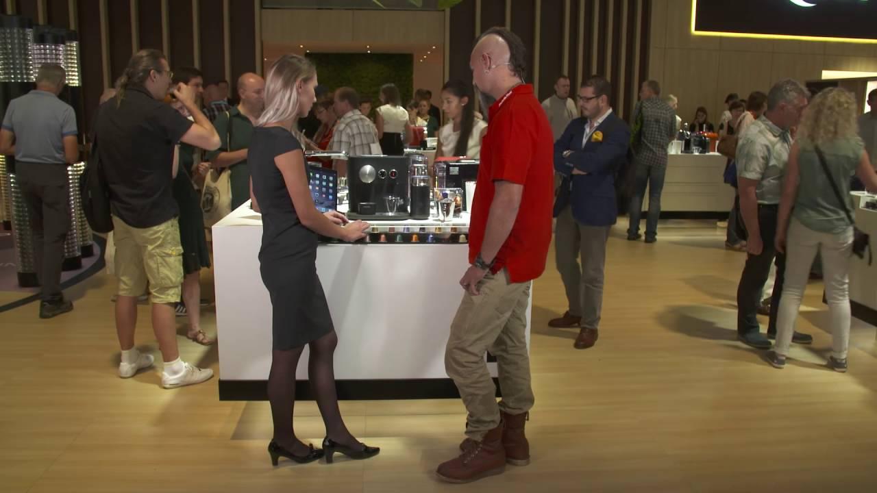 kaffeegenuss ganz einfach per app nespresso highlights mediamarkt ifa 2016 youtube. Black Bedroom Furniture Sets. Home Design Ideas