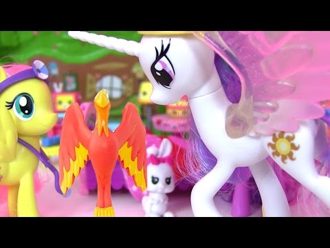 Май Литл Пони Мультик Princess Celestia & Fluttershy Видео для Детей MLP #МультикидляДетей