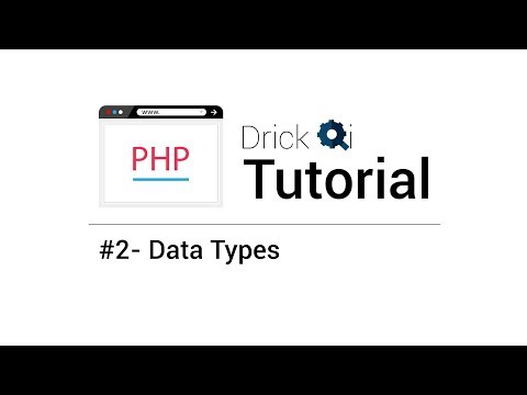 php-tutorial-.feat-drick-qi---#2-data-types
