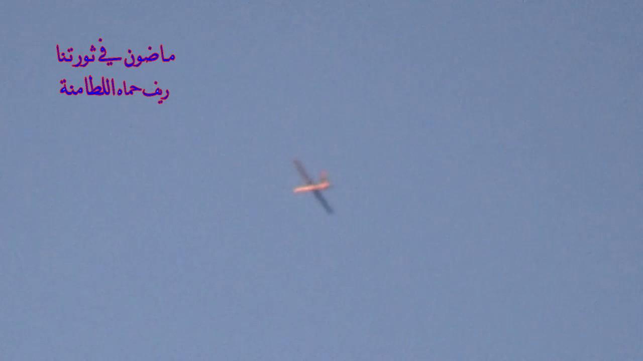 Video of UAV flight over Latmnah, Northern Hama
