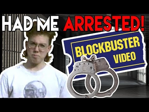 Blockbuster Video Arrested Me! Accusing Me of Breaking & Entering - RIGGS Vlog