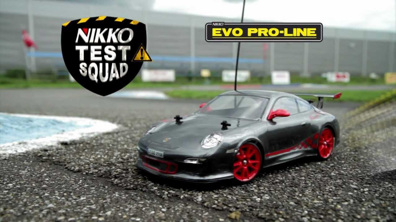 Evo Pro Line 2 4ghz Porsche 911 Gt3rs Nikko Test Squad Youtube