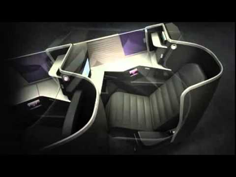 tangerine design Virgin Australia's revolutionary new Business Class