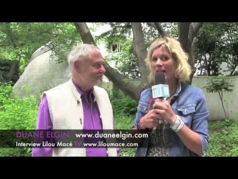 The Living Universe: Who Are We? Where Are We Going? - Duane Elgin, Japan