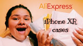 unboxing iPhone XR cases from AliExpress|| Jenifer Ibarra