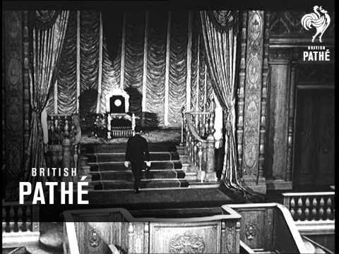 Hirohito Opens Japanese Diet (1946)