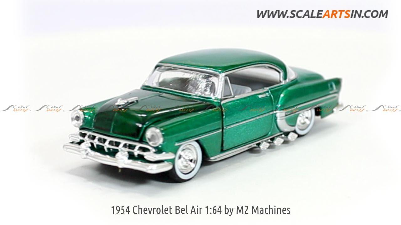 1954 Chevrolet Bel Air 1:64 by M2 Machines Diecast Scale Model www ...