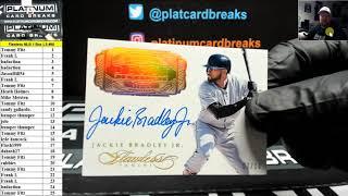 2017 Panini Flawless Baseball 1 Box Random Left Side Serial Number Break #88