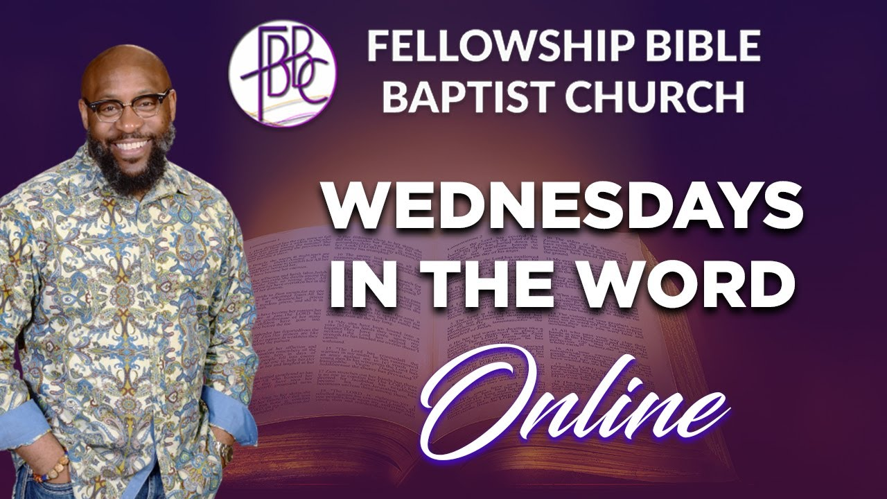 Wednesdays In The Word Online! September 16, 2020