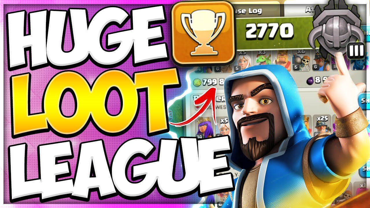 Masters League has Massive Loot! Best League for TH12 Farming in Clash of Clans