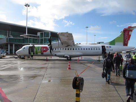 ✈FLIGHT REPORT | TAP Express (opb White Airways) | ATR 72-600 | Porto - Lisbon | Economy