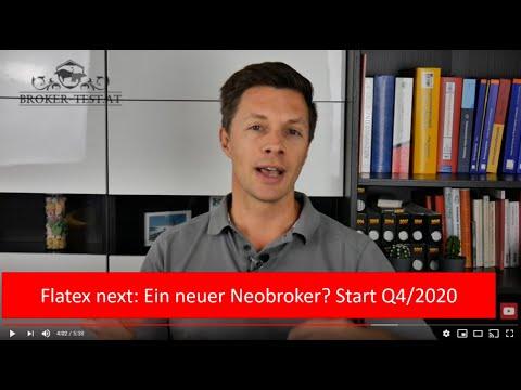 Flatex startet Neobroker: Flatex next kommt in Q4/2020 - Aktien, ETFs und wenige Handelsplätze
