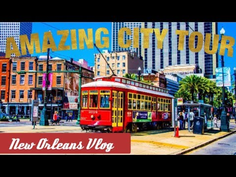 NEW ORLEANS CITY TOUR | Garden District | French Quarter