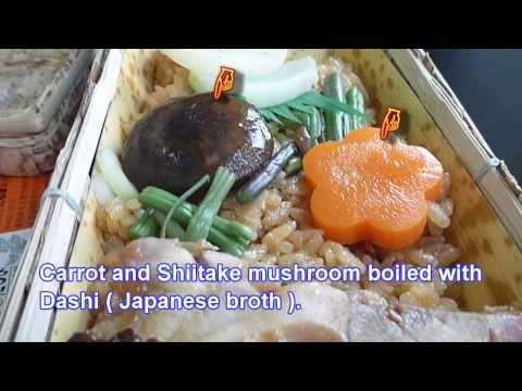 "Japanese food culture : Eki-Bento (Ekiben) #9 ""Junkei Nagoya Cochin Tori Meshi"""