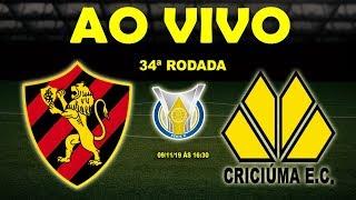 Sport 1 x 0 Criciúma | Brasileirão Série B | 34ª Rodada | 09/11/19