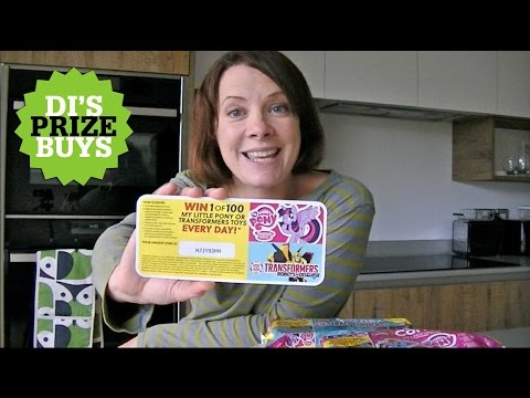 Di's Prize Buys: Win 100 toys every day with Müller Kids Corner