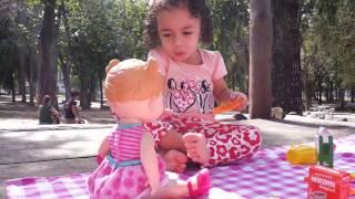Picnic com a Baby Alive