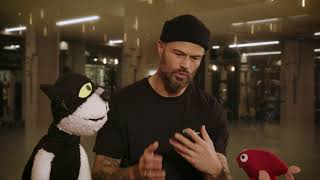 Kat en Vis stellen vragen met Arie Boomsma
