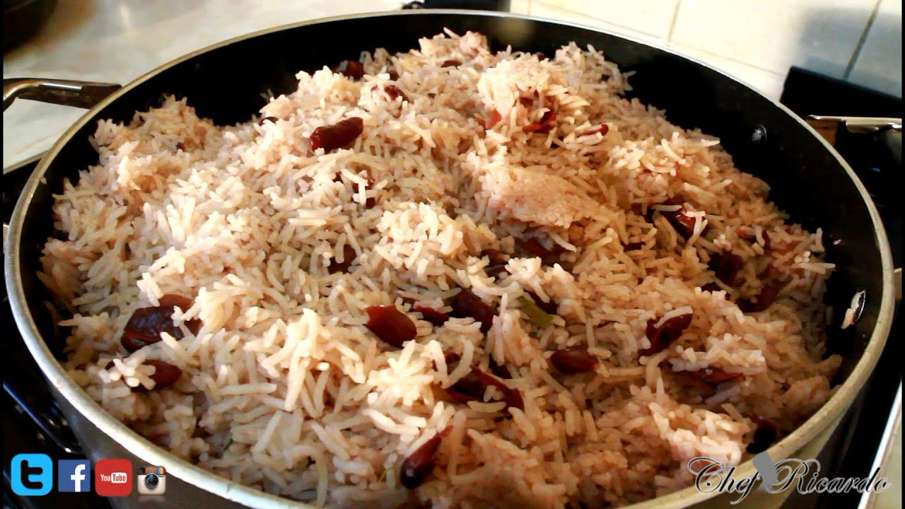 Rice and peas sweet for christmas dinner jamaican cooking chef rice and peas sweet for christmas dinner jamaican cooking chef recipes by chef ricardo youtube forumfinder Images