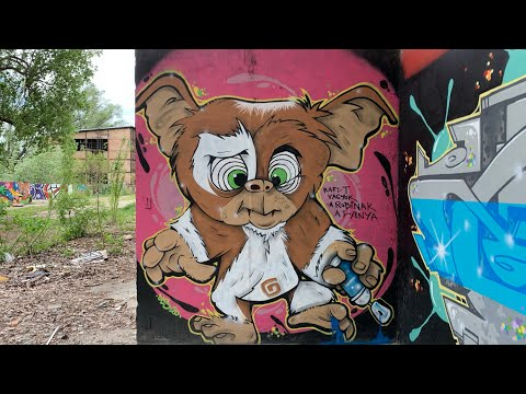 Graffiti spots I/b. - Budapest, Hungary - Népsziget - 2021 update