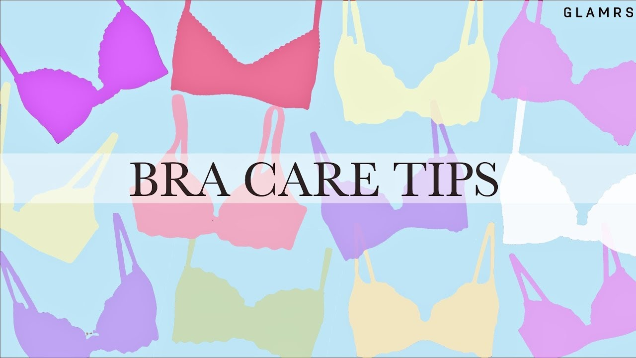 How To Properly Wash, Dry & Store Your Bras