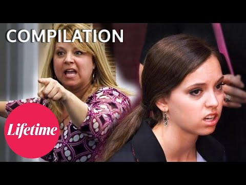 Leslie DEMANDS An ELITE Spot for Payton - Dance Moms (Flashback Compilation)   Lifetime