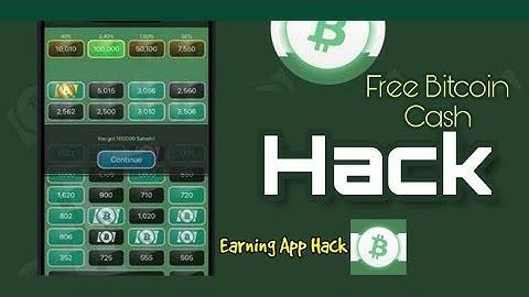 Free Bitcoin Cash Hack  Earning app Hack   Bangla