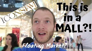 Floating Market INSIDE A MALL?!?! - ICONSIAM Bangkok