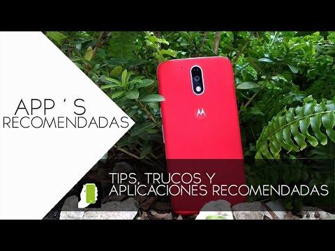 MOTO G4 PLUS  Tips, Trucos Y Aplicaciones Recomendadas Para ANDROID HD